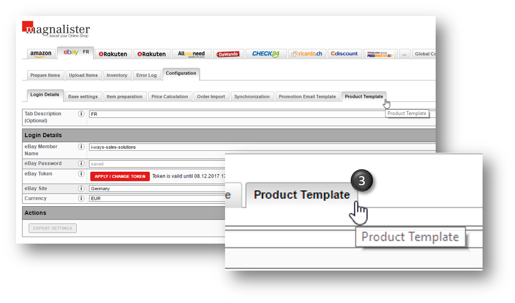 ebay store template tutorial - magnalister documentation i ways sales solutions gmbh